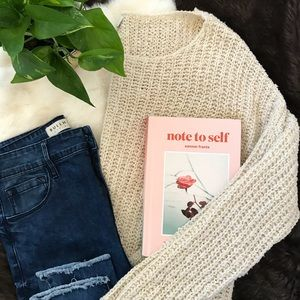 Knitted Sweater | With Grace
